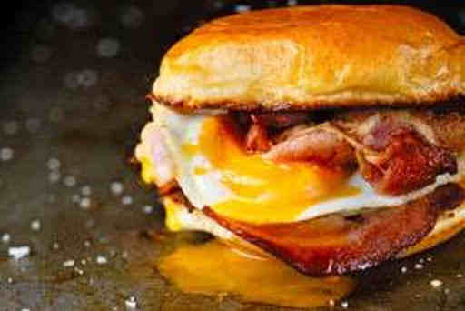Filled Roll Bacon Egg